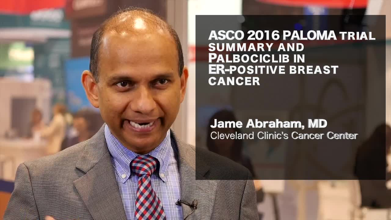PALOMA trials summary and Palbociclib in ER-positive breast cancer