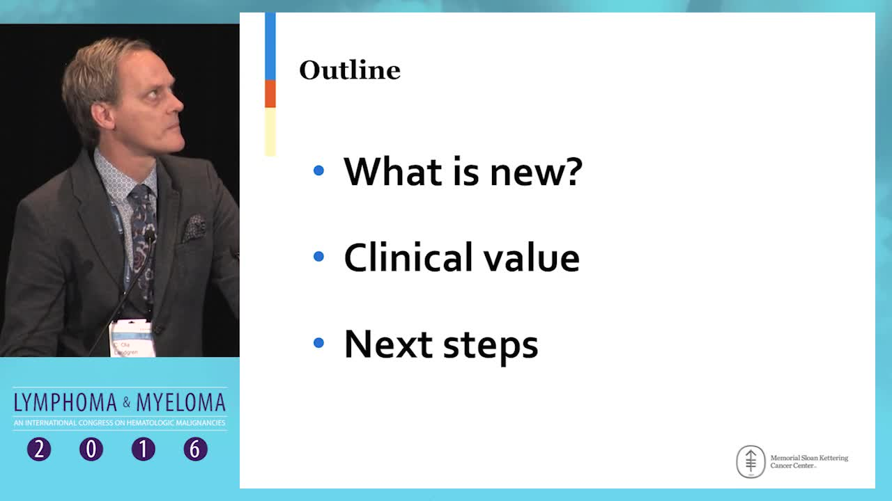 Update on MRD, new approaches and clinical value