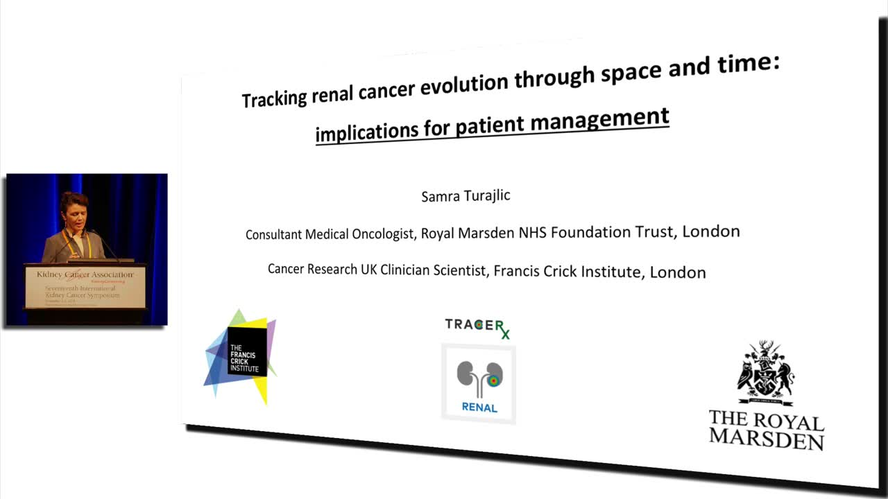 Tracking Renal Cancer Evolution Through Space And Time: Implications For Patient Management