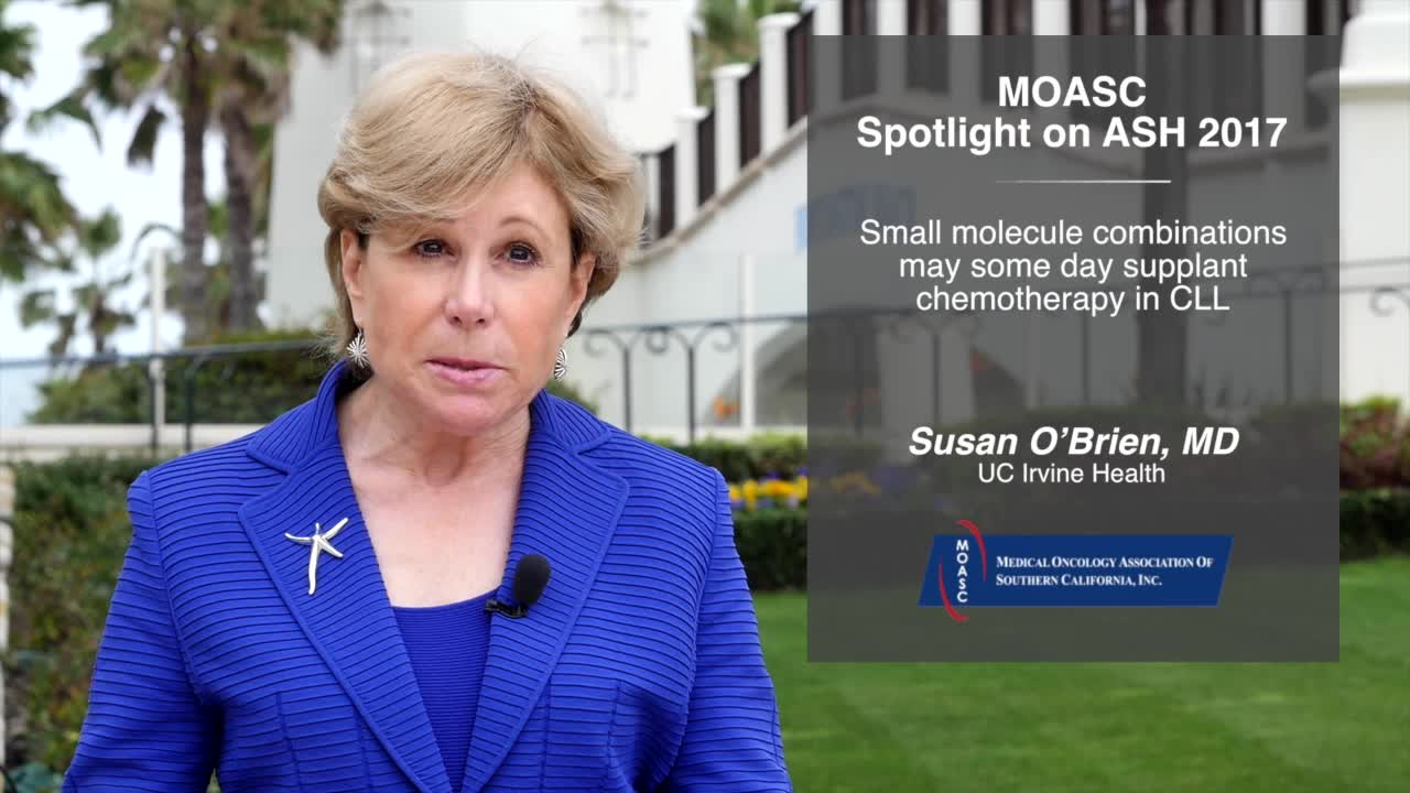 Small molecule combinations may some day supplant chemotherapy in CLL
