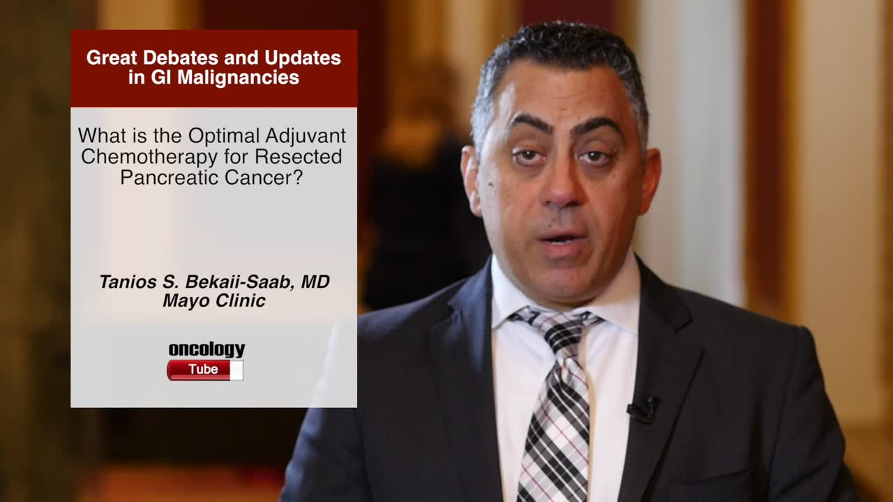 What is the Optimal Adjuvant Chemotherapy for Resected Pancreatic Cancer?