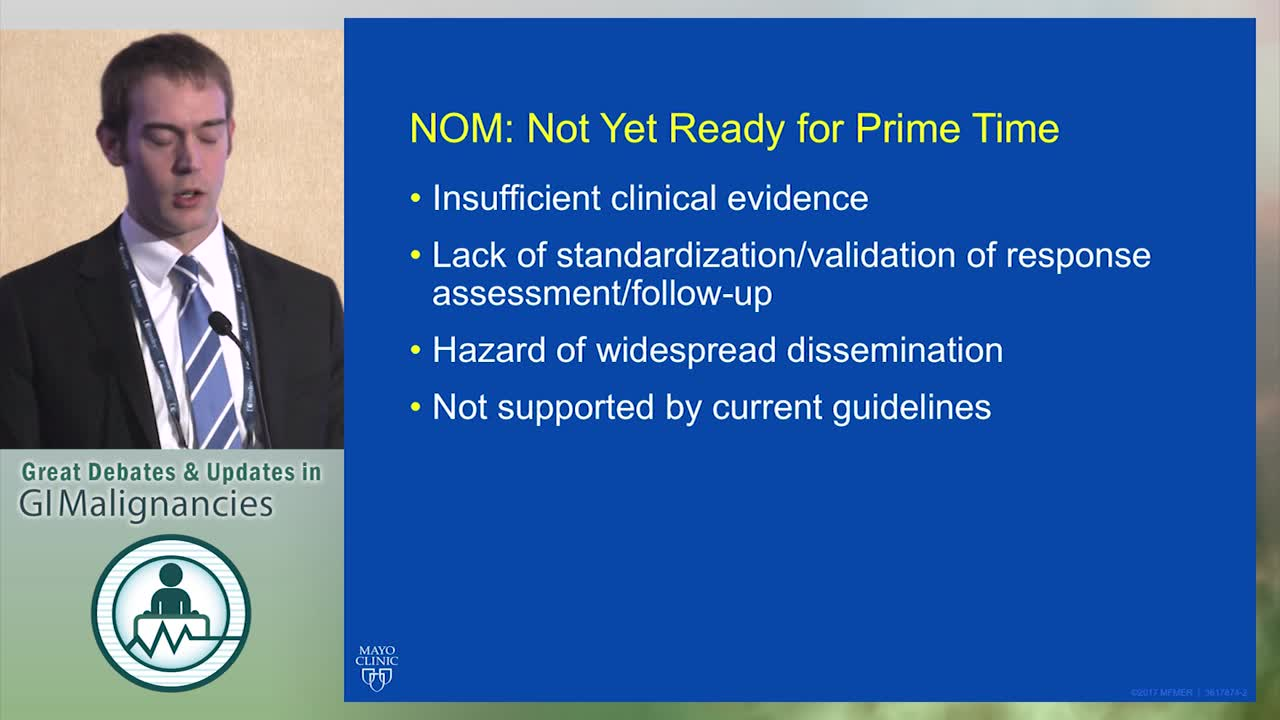 Debate: Is observation without surgery reasonable for rectal cancers achieving a clinical CR? - No