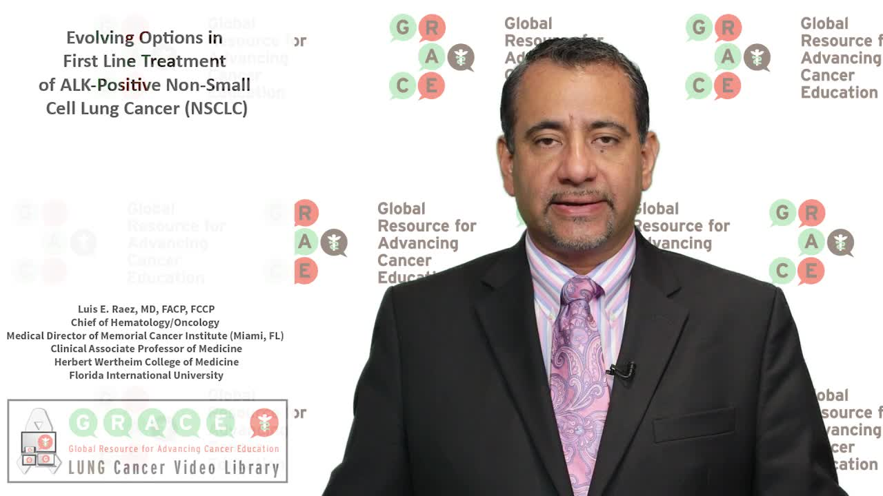 Evolving Options in First Line Treatment of ALK PositiveNon Small Cell Lung Cancer NSCLC [720p]