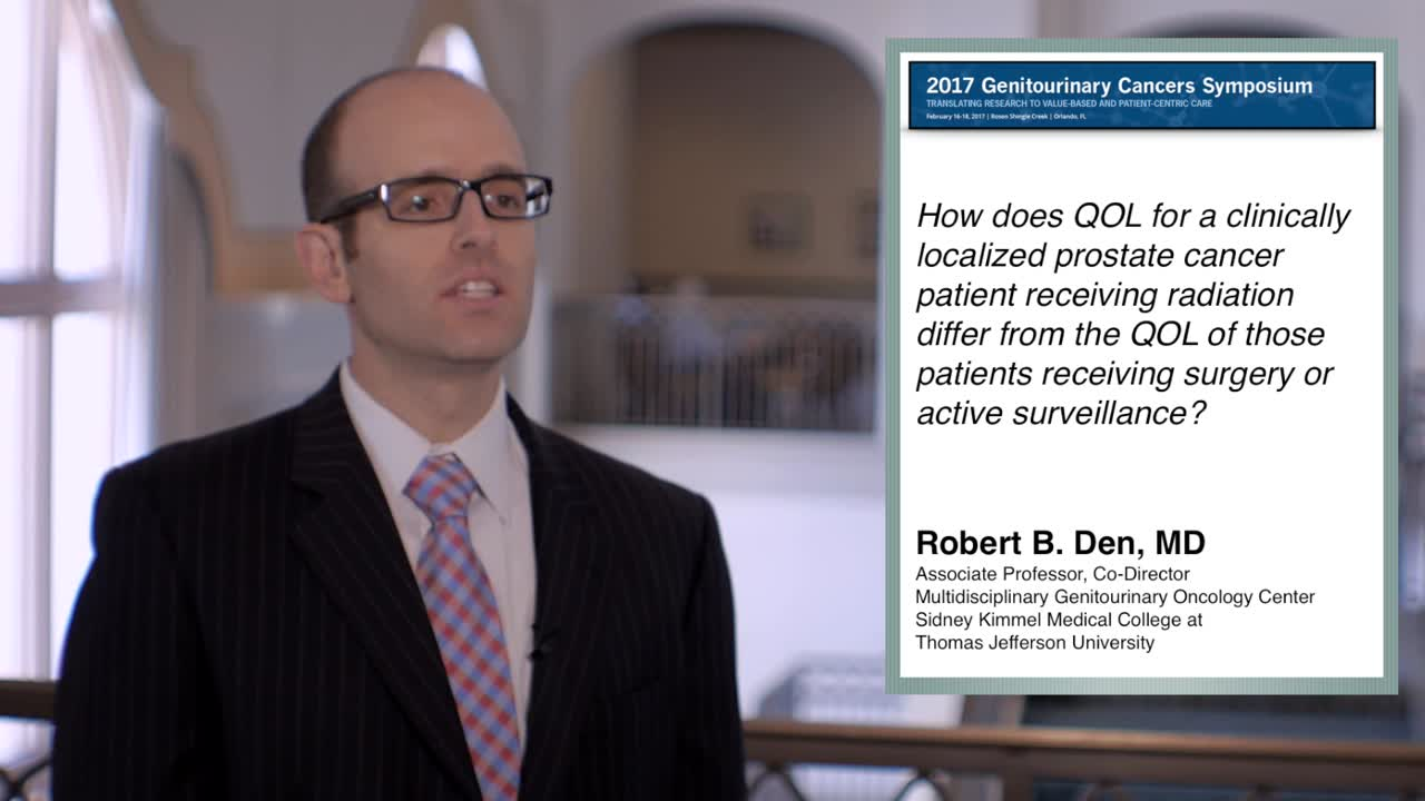 Quality Of Life For Prostate Cancer Patients Radiation