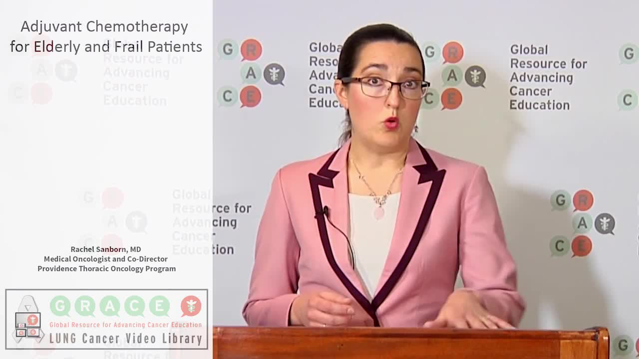 Adjuvant Chemotherapy for Elderly and Frail Patients Part 2v [720p]