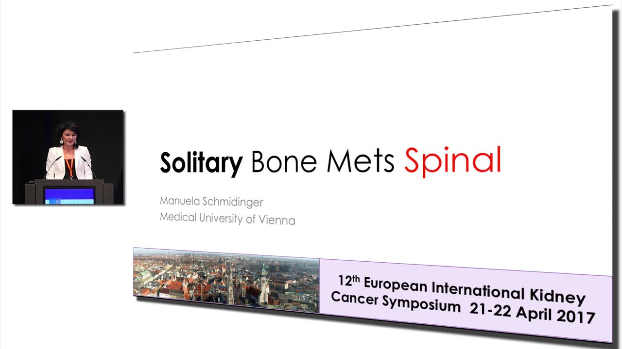 Solitary Bone Mets Spinal #KidneyCancer