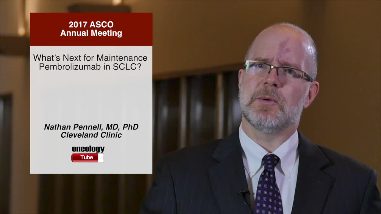 What's Next for Maintenance Pembrolizumab in SCLC?