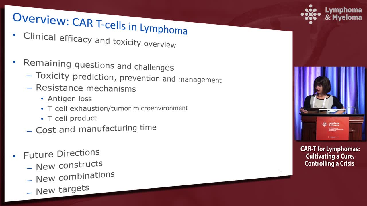 What does the future hold with CAR-T cell therapy?