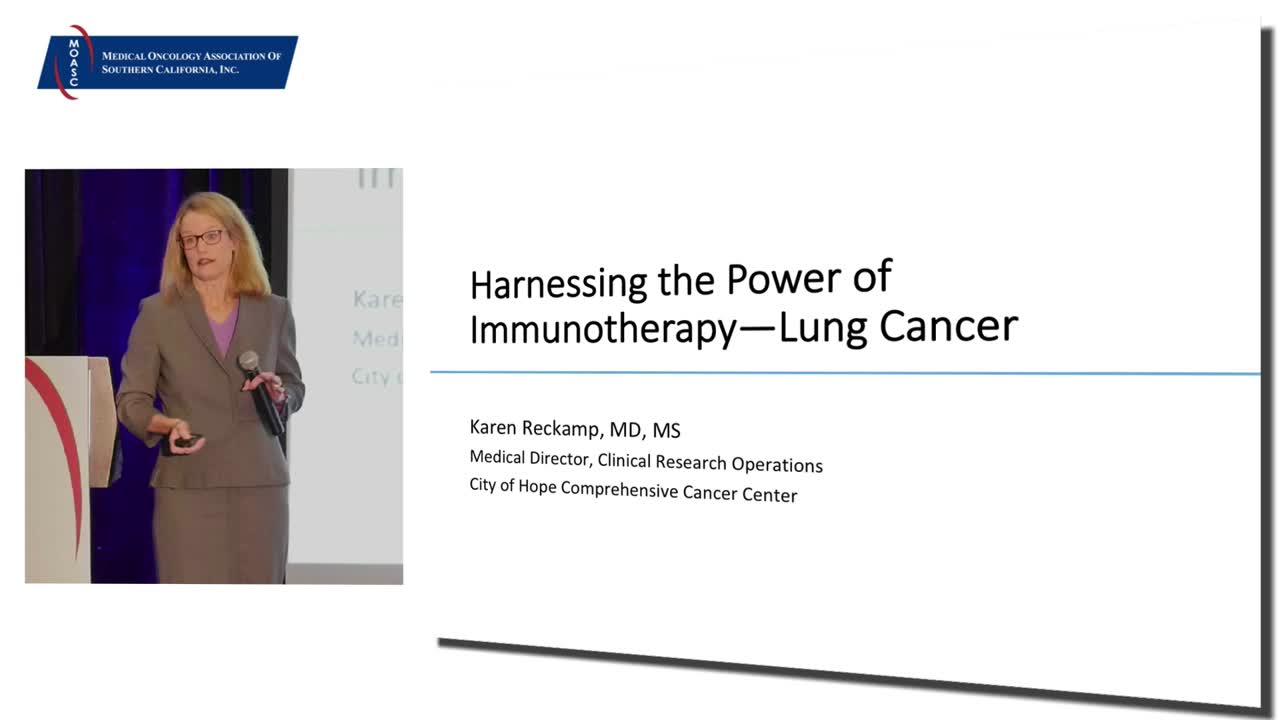 Harnessing the Power of Immunotherapy—Lung Cancer