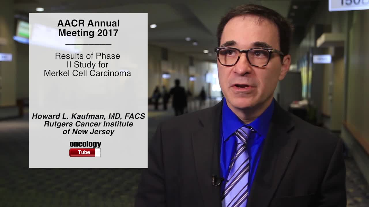 JAVELIN Merkel 200: Results of Phase II Study for Merkel Cell Carcinoma