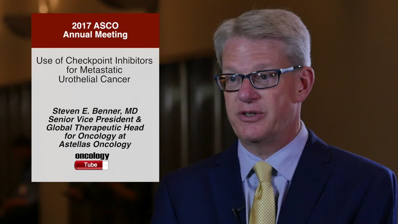 Use of Checkpoint Inhibitors for Metastatic Urothelial Cancer