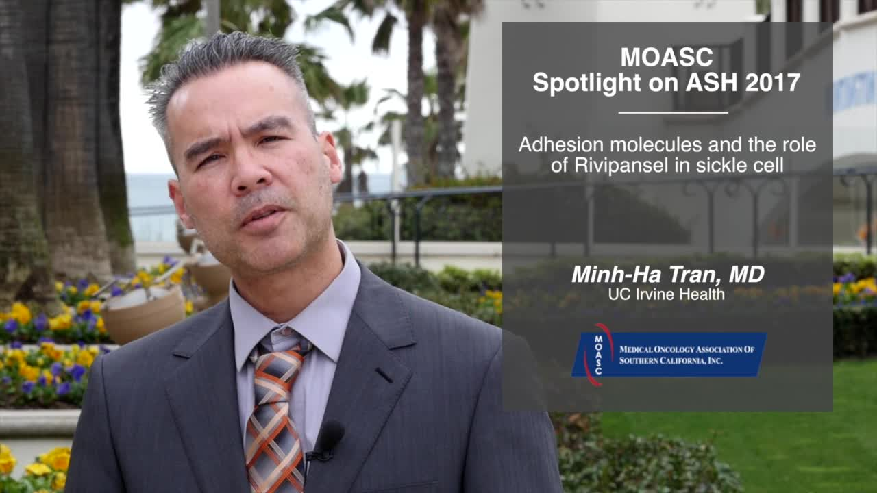 Adhesion molecules and the role of Rivipansel in sickle cell