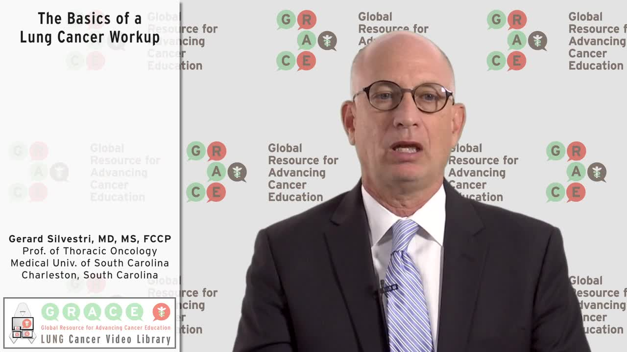 The Basics of a Lung Cancer Workup [720p]