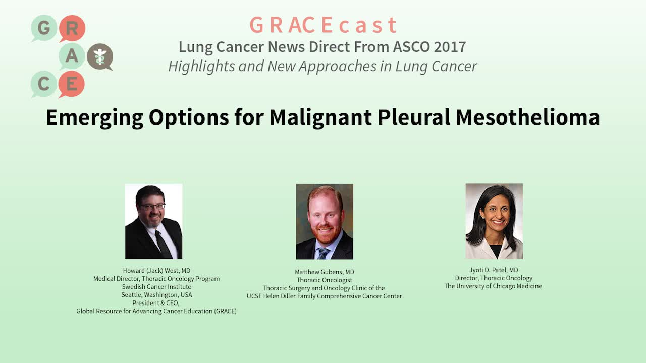 Emerging Options for Malignant Pleural Mesothelioma [720p]