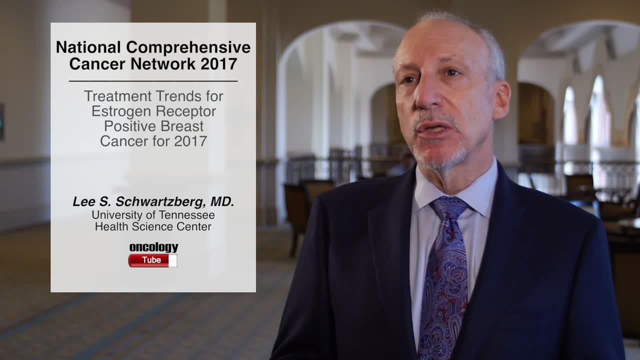 Treatment Trends for  Estrogen Receptor Positive Breast Cancer for 2017
