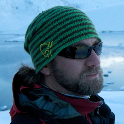 Ari Friedlaender travels as a marine biologist with One Ocean Expeditions to Antarctica.