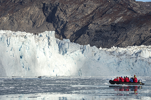 Travel to the Northwest Passage on a small expedition ship and explore icebergs and glaciers on a One Ocean Expeditions Arctic adventure cruise.
