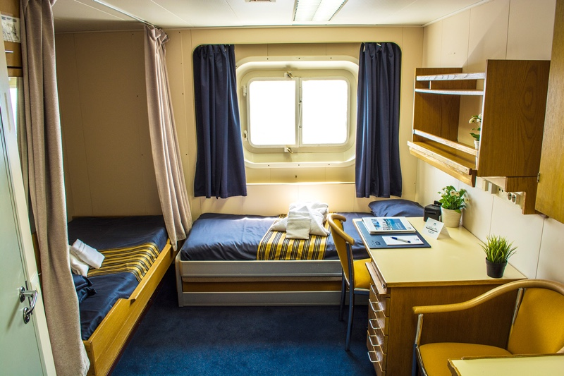 Twin Private Cabin, One Ocean Expeditions