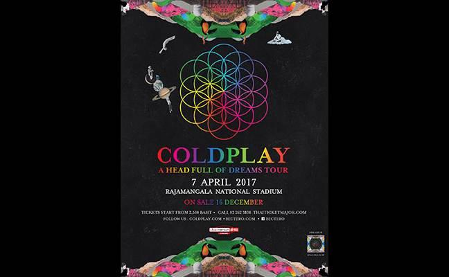 Coldplay Live in Bangkok 2017 | Concerts | Rajamangala ...