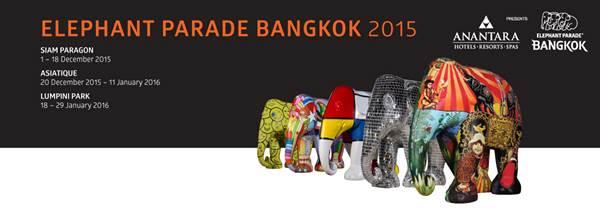 Elephant Parade Bangkok 2015
