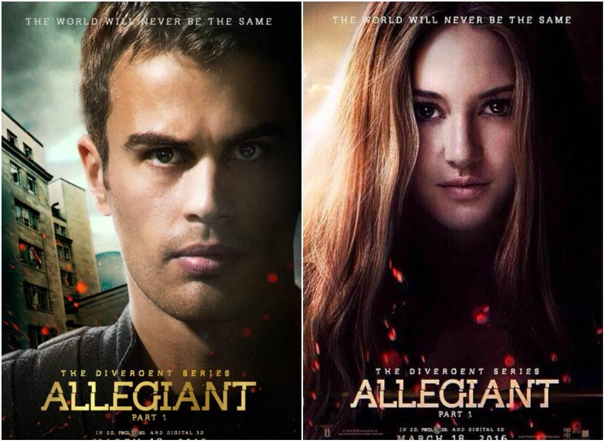 The Divergent Series Allegiant 2016 Film Lido Apex One Place Bangkok