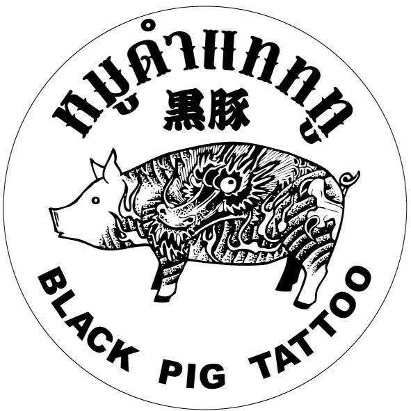 Black Pig Tattoo BKK