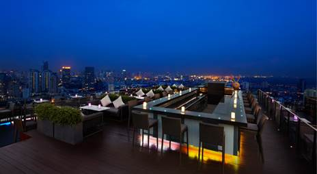 Zoom Sky Bar and Restaurant, Anantara Bangkok Sathorn