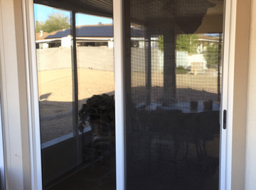 Energy efficient sliding glass doors in Surprise, Arizona by Efficient Home Pro
