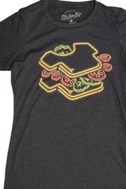 Womens Neon BLTee, Womens Neon Shirt