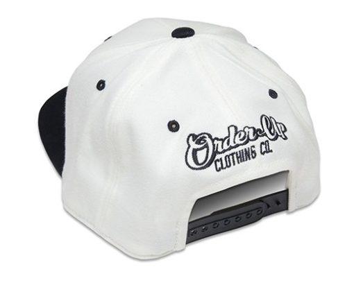 White Hat Icon, Order Up clothing Icon White Hat