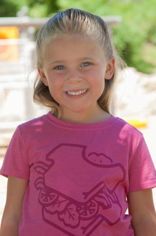 Kids 3DSand Raspberry T-Shirt