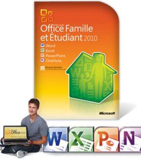 Microsoft Office Famille et Étudiant 2010