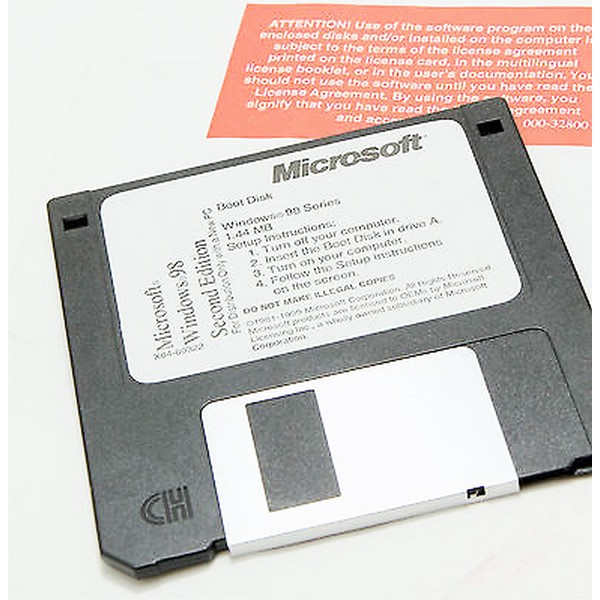 Windows 98 Second Edition Boot Disk