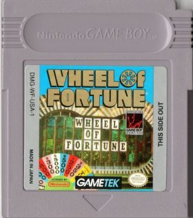 GAME BOY Wheel Of Fortune