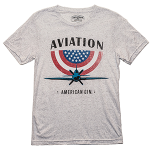 Aviation Gin USA Plane Tee