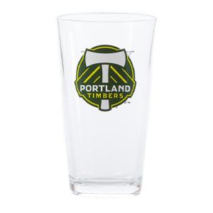 Timbers Pint Glass