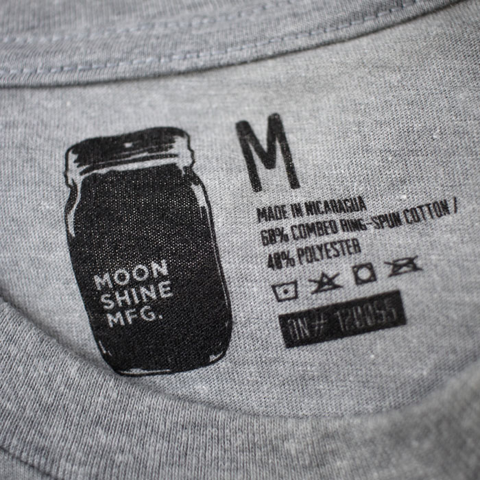 Moonshine MFG Tag