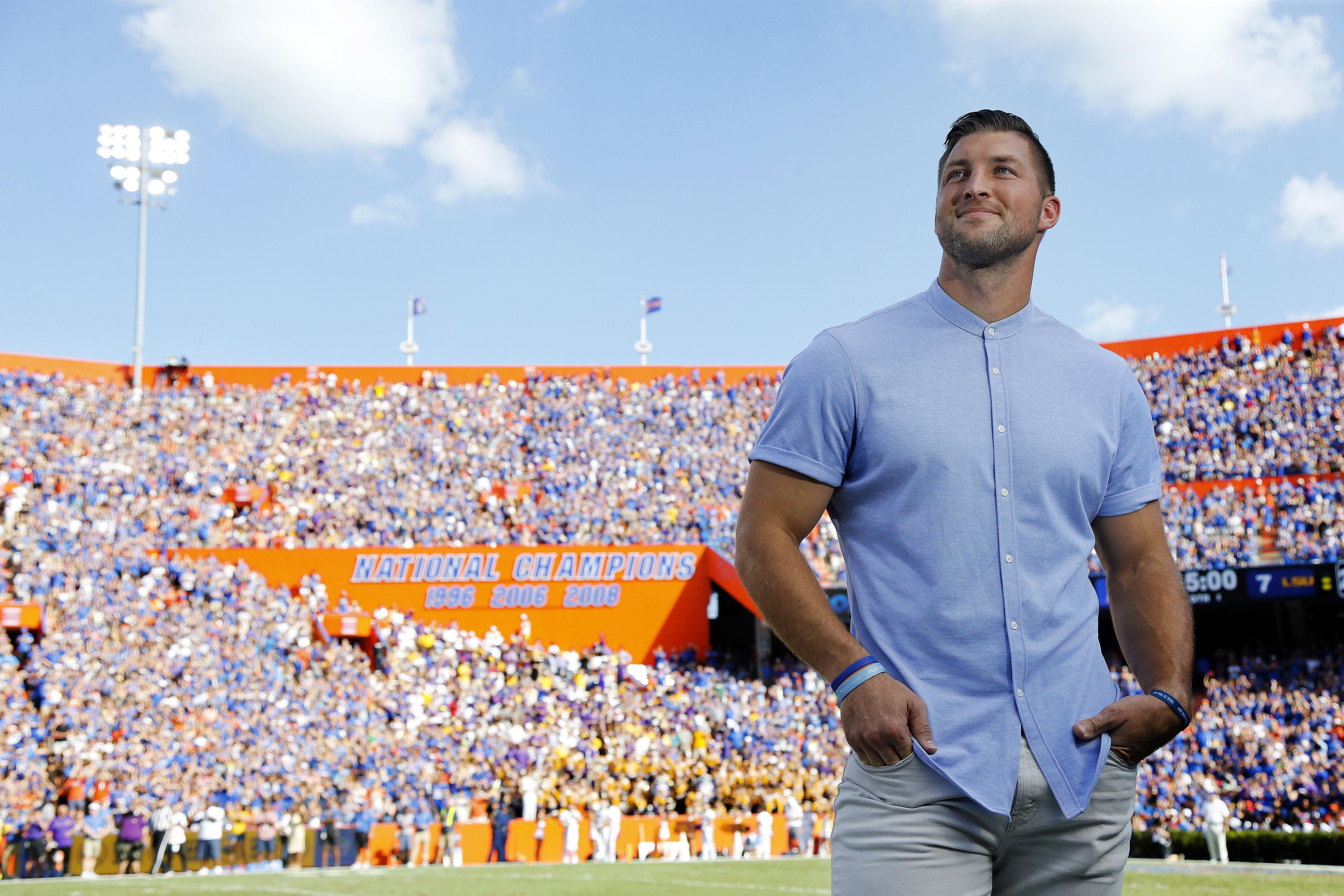 Tim Tebow Is Always One Interesting Cat