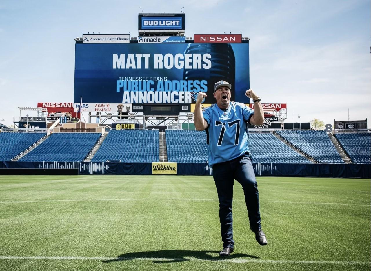 When Matt Rogers speaks, Tennessee Titans fans will listen