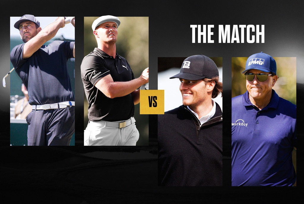 'The Match' Brings Together Four Megastars on a Montana Golf Course
