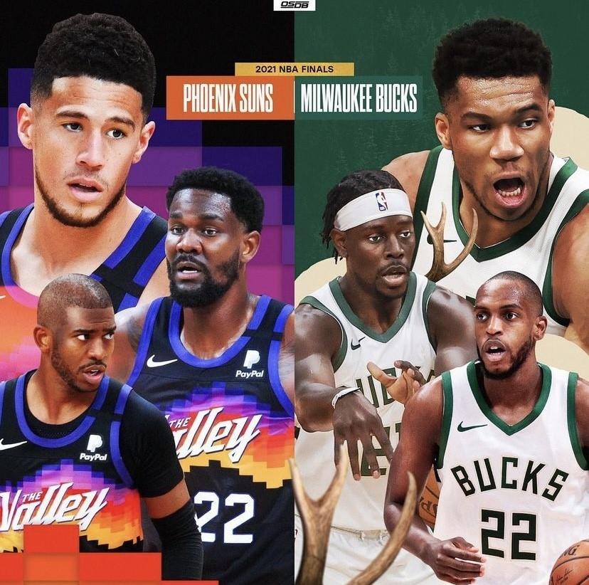 NBA Finals feature an unlikely matchup in Bucks vs Suns