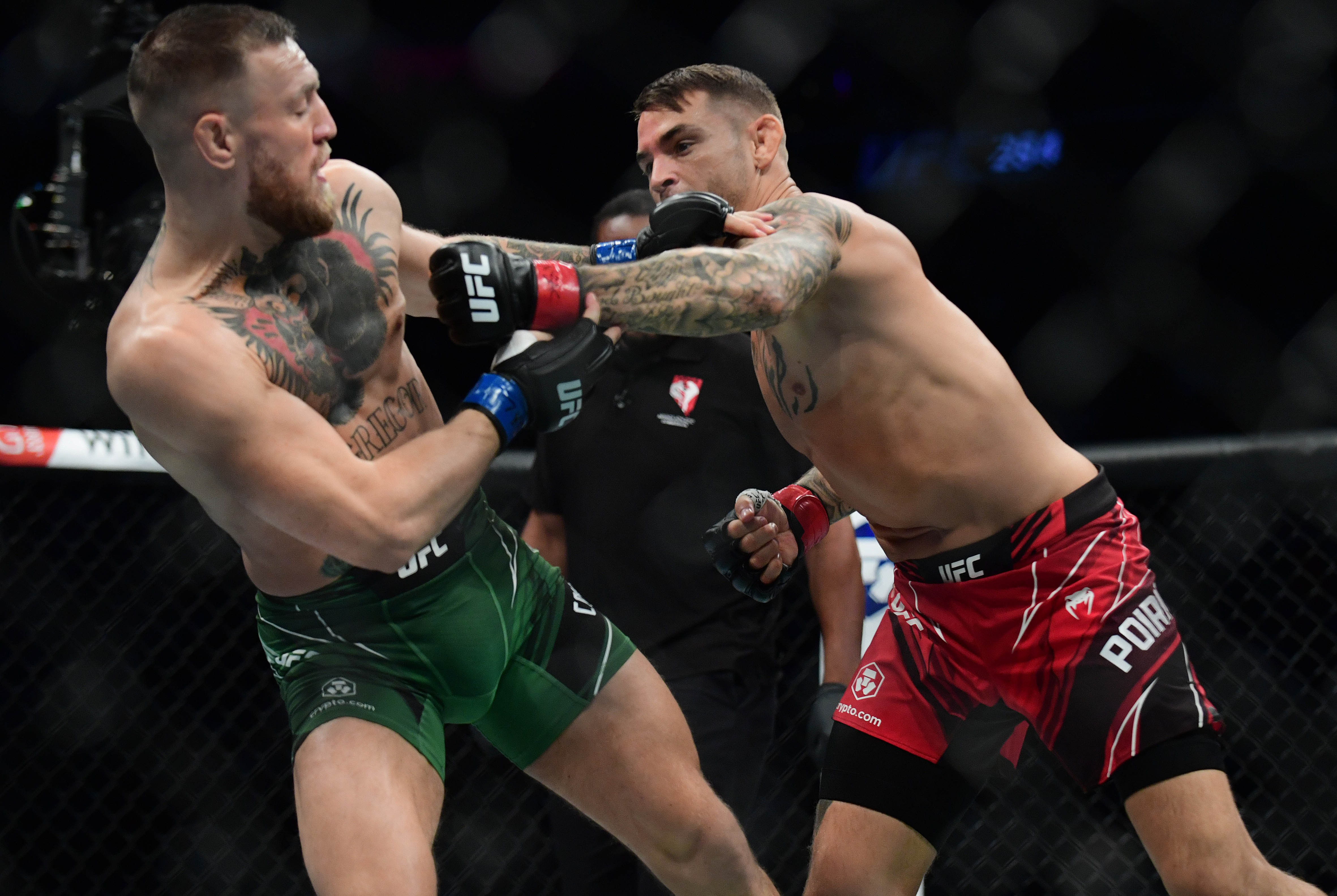 McGregor and Poirier can't get no satisfaction in third piece of their trilogy