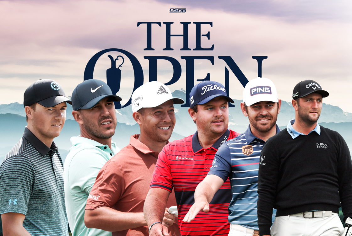 A stacked field tackles Royal St. George's for the Open Championship