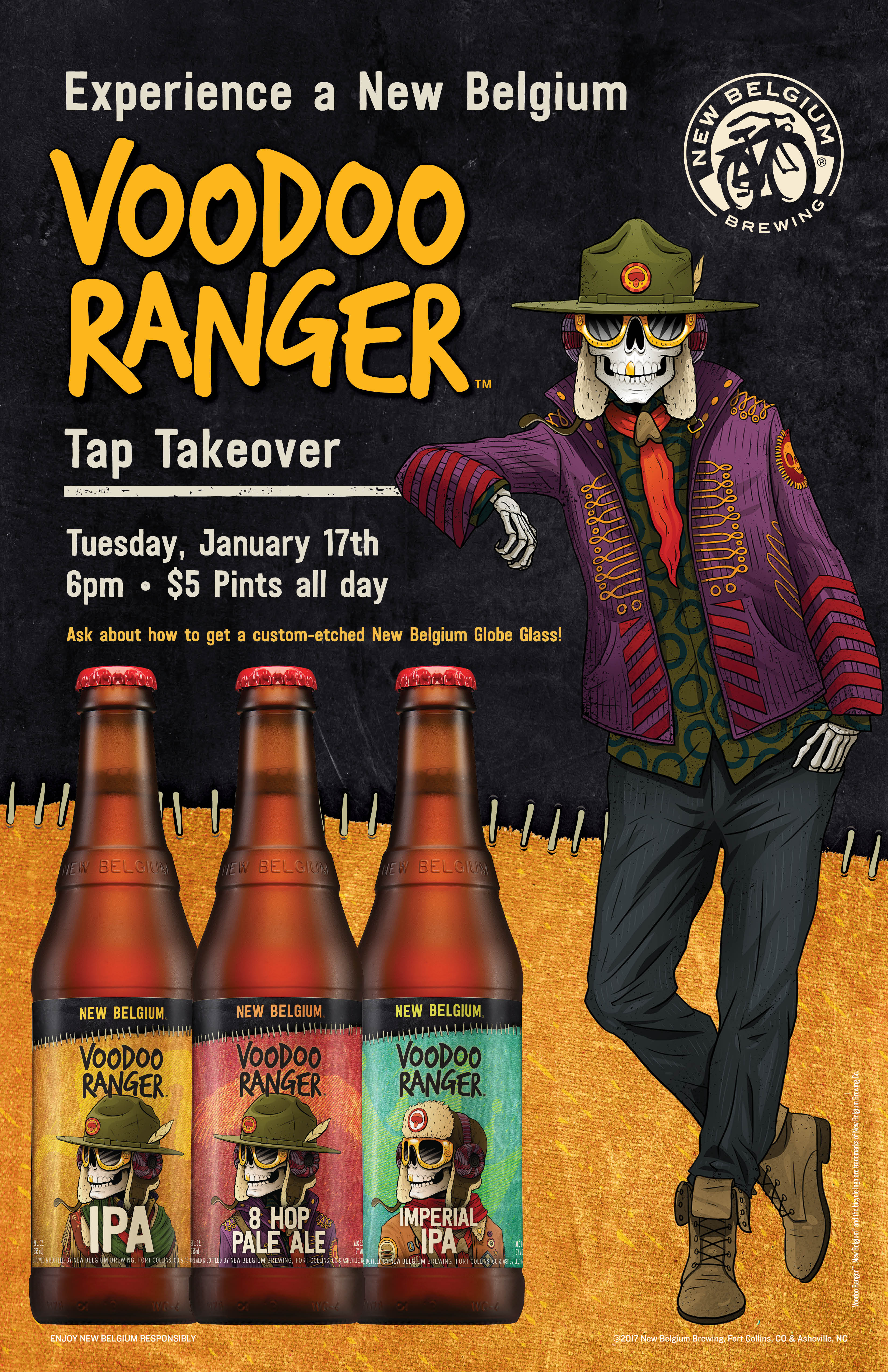 New Belgium Tapping Event