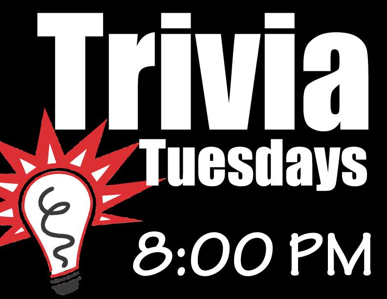 Tuesday Trivia Night!