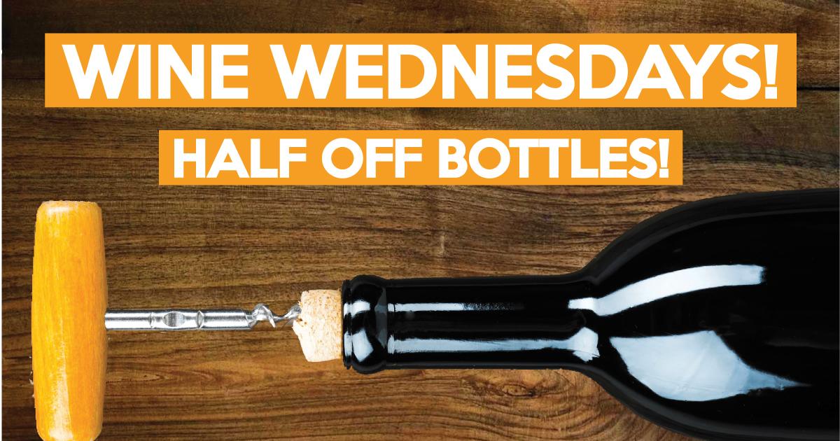 Half Off Wine