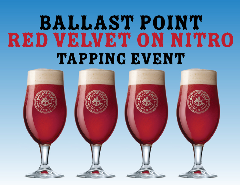 Ballast Point Red Velvet Nitro Tapping
