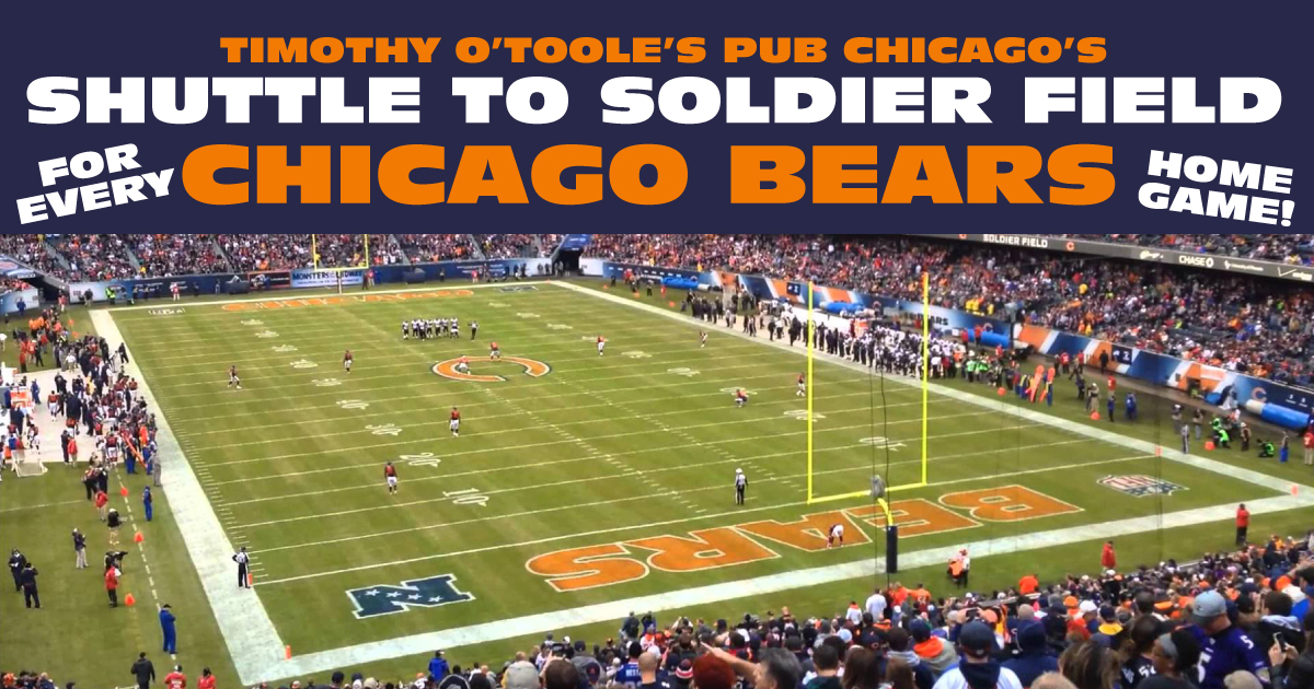online store 51957 c1761 Chicago Bears Shuttle Service to Soldier Field | Timothy O ...