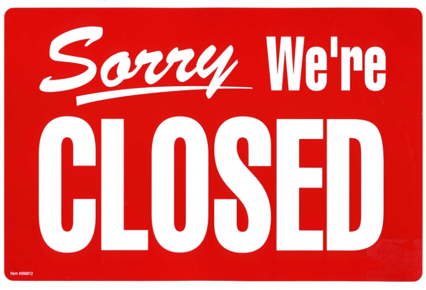 Closed for Employee Holiday Party!