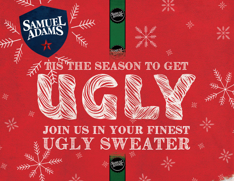 Ugly Sweater Party with Sam Adams